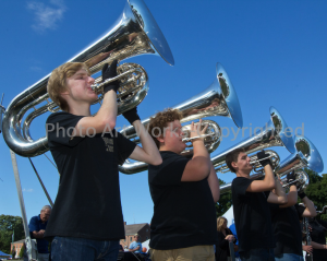 NHS Marching Band Tubas